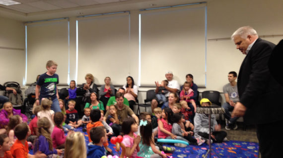 Riverton Library Magic Show – April 2016